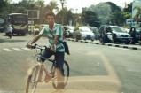 bikers. helmet is not a requirement here.