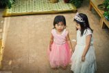 Bride's mini-me hahah..