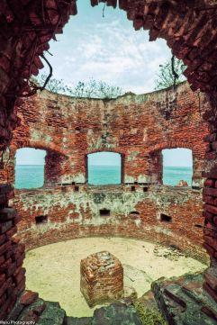 Inside the fort