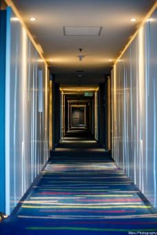 Hallway, Mercure Hotel, Ancol, Jakarta